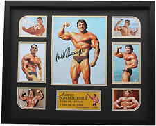 New Arnold Schwarzenegger Signed Limited Edition Memorabilia