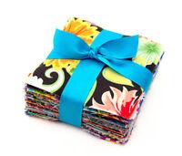 "120 Assorted precut charm pack 4"" squares 100% cotton fabric quilt scrap lot"