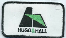 Hugg & Hall employee patch Little Rock AR 2 X 4 heavy equip sales