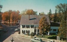 Vintage Postcard - White Cupboard Inn & The Green - Woodstock VT