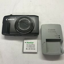 Canon Powershot SX270 HS Digital Camera w/Battery & Charger