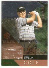 2003 UPPER DECK SP AUTHENTIC SALUTE TO CHAMPIONS SERIAL #/1998 MARK O'MEARA OPEN