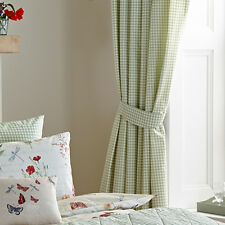 Dreams 'N' Drapes Country Journal Pencil Pleat Curtains, Multi, 66 x 72 Inch
