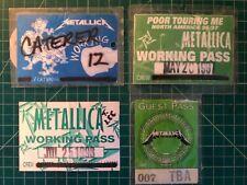 Metallica Backstage Passes! Vintage crew pass Stadium Tour 92! Neil Young