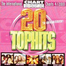 Chart Boxx 4/2001:WESTLIFE,NELLY,GLASHAUS,BARTHEZZ,DEPECHE MODE,BOSSON,BLUMFELD