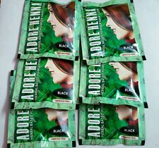 6 X 25 gm Black Indian Herbal Henna Hair Color Dye Best Seller ~ No Ammonia