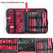 21× Car SUV Door Panel Removal Clip Trim Dash Audio Radio Open Pry Tools Kit Set