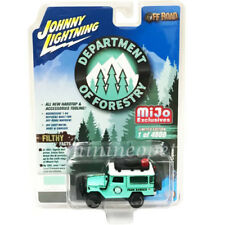 JOHNNY LIGHTNING JLCP7146 1980 TOYOTA FJ LAND CRUISER FORESTRY 1/64 LIGHT GREEN