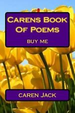 Carens Book of Poems : Buy Me by caren Jack (2015, Paperback, Large Type)