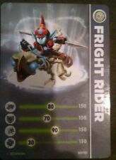 Fright Rider Skylander Giants Stat Card Only!