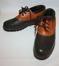 Eddie Bauer Leather and Brown Rubber Duck Boots Size 8