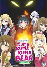 Kuma Kuma Kuma Bear Dvd (Eps :1 to 12 end) with English Subtitle