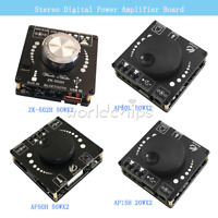 Bluetooth 5.0 TPA3116D2 Digital Power Amplifier Audio Stereo Board 20WX2 50WX2