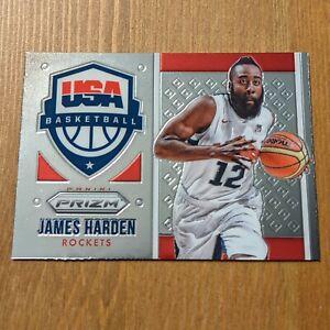 James Harden 2015-16 Panini Prizm USA Basketball #12 Olympics