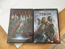 Thor 1 & Thor 2 The Dark World Combo Set Bundle Includes Both Movies DVD