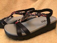womens alegria sandal shoes size 37 comfort multi color black