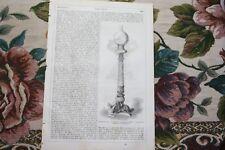 1857 clave 146/fa Tahan Paris casa de pájaro/hierro obras Lauchhammer