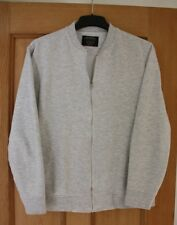 Mens Burtons Grey Zipped Top Size Medium