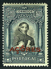 Portugal Azores 282, Mnh. Independence. Dr. Joao das Regras. Overprinted, 1927