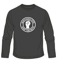 Northern Soul Keep The Faith Long Sleeved Music Mens Loose Fit Cotton T-Shirt
