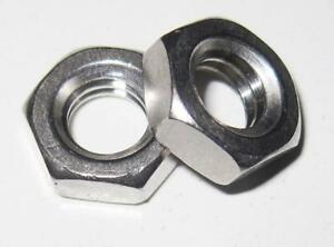 6-32 UNC Full Nut - A2 Stainless Steel (Qty 10)