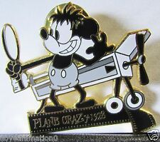 Disney Mickey Through Years Filmstrip Plane Crazy Mickey Mouse LE Pin