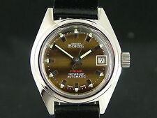 Rare Ernest Borel Automatic Ladies Watch 1970s NOS