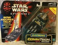 Star Wars Episode 1 Electronic Comm Tech Reader By Hasbro 1998 Vintage Toy NEW