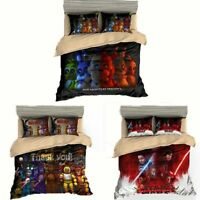 3D Five Nights at Freddy's Duvet Cover Kids Bedding Set Pillowcases Quilt Cover