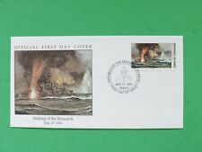 1991 Marshall Islands May 27th 1941 Sinking of the Bismark Stamp cover SNo52155