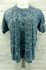 JIMMY BUFFETT VTG Las Vegas Blue Shirt Distressed Tie Dye Margaritaville XXL