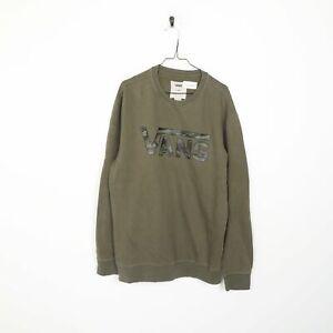 VANS Big Logo Sweatshirt Green XL