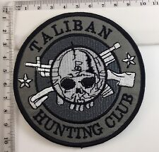 Taliban Hunting Club Badge Afghanistan Military Patch Airsoft Tactical Army 275