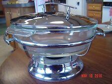 Vintage Anchor Hocking Chafing Dish w/Lid