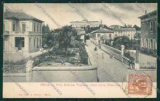 Milano Meda cartolina QQ8149
