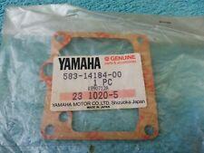 YAMAHA, Genuine OEM, Gasket, Float Chamber, XT500, TT500, part  583-14184-00