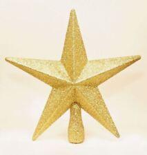 Kraftz ® - Decorazione Natalizia Natale Albero stella glitter Coprimaterasso-Oro