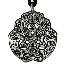 Eagle Celtic Knot jewelry Triquerta trinity knotwork pendant amulet talisman