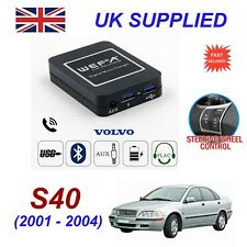 For Volvo S40 Music Streaming Bluetooth Telephone SD AUX CD Digital Module HU