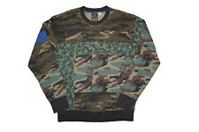 Diesel S-heizo Military Green Sweater Size L 100 Authentic