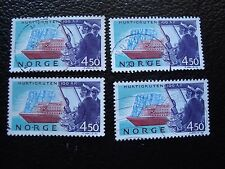 NORVEGE - timbre yvert et tellier n° 1085 x4 obl (A04) stamp norway (R)