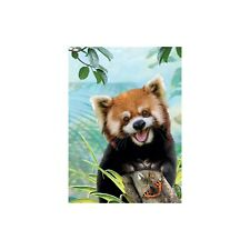 Red Panda Selfie Greeting All Occasions Greeting Card & Envelope by Tree Free