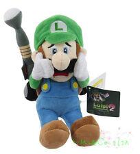 "New Luigi`s Mansion 2 Stuffed Animal Super Mario Bros. 9"" Luigi Plush Toy Doll Y"