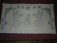 #654 Beautiful Vintage Hand Embroidered Tapestry 130cm/75cm(51'/29.5')