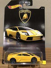 2017 New Hot Wheels Lamborghini Murcielago Yellow Lamborghini Series 5 of 8