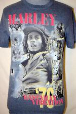 Bob Marley '76 Rastaman Vibration Medium T-Shirt M Blue Gray The Wailers Reggae