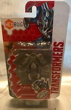 HEXBUG NANO TRANSFORMERS SILVER KNIGHT NEW - Micro Robotic Creature!