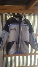 Ski Jacke Gr M grau/schwarz