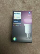 New Philips Hue Single E27 Bulb, White And Colour Wireless Lighting