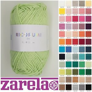 Rico Ricorumi DK 100% Cotton Knitting Yarn 25g ***ALL COLOURS***